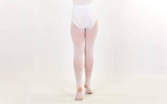 Колготки для танцев и балета Zelart (6-13 лет, белые), фото 2