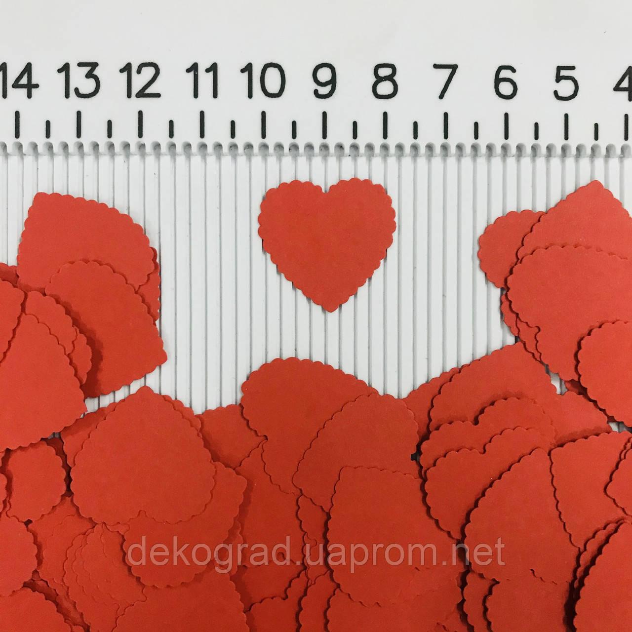 Набор вырубки Сердечки 10шт