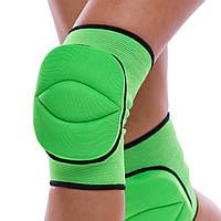 Наколенник волейбольный Zelart PL 2 шт Зеленый (BC-7102) S