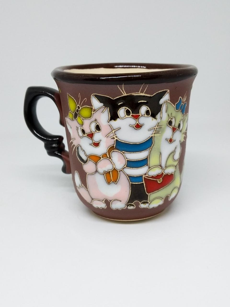 """Чашка кавова 150мл """"Трійка котів"""""""