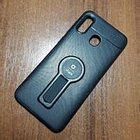 Чехол iFace popsoket+magnet Samsung Galaxy A30 (A305F) А20 (А205F) Черный