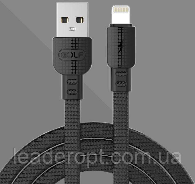 [ОПТ] Дата кабель синхронизации GOLF GC-66 Armor iPhone Lightning 1 м для зарядки и передачи данных