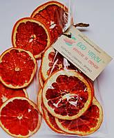 Фруктові чіпси із грейпфрутів 50 грам, замінюють 450-500 г свіжих грейпфрутів