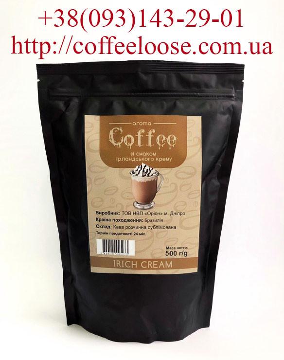 Кофе растворимый ароматизированный со вкусом Ирландский Крем 500 грамм (Касик Бразилия)