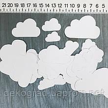 Набор высечек Облака 37шт