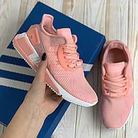 Кроссовки спортивные Adidas EQT черные женские осенние летние