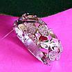 Стильное кольцо из серебра с цирконием - Женское серебряное кольцо, фото 5