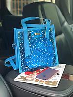 Стильная голографическая силиконовая сумка WeLassie.