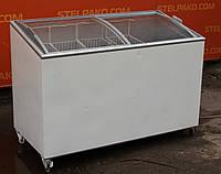 """Морозильный ларь """"Ugur UDD 400 SCEB"""" (Турция) 395 л., гнутое стекло, Б/у, фото 1"""