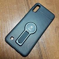 Чехол iFace popsoket+magnet Samsung M10 (M105F) black