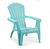Кресло садовое Dolomiti голубое