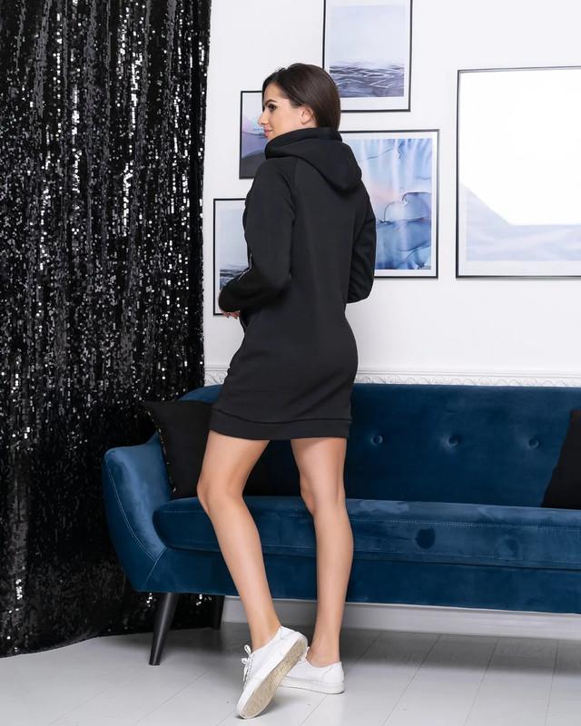 Тепле плаття-худі з капюшоном Різні кольори