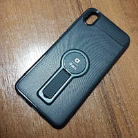 Чехол iFace popsoket+magnet Xiaomi Redmi 7A black