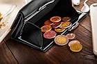 Шкіряний гаманець BETLEWSKI з RFID 12 х 9,5 х 2,5 (BPD-SS-14) - чорний, фото 7