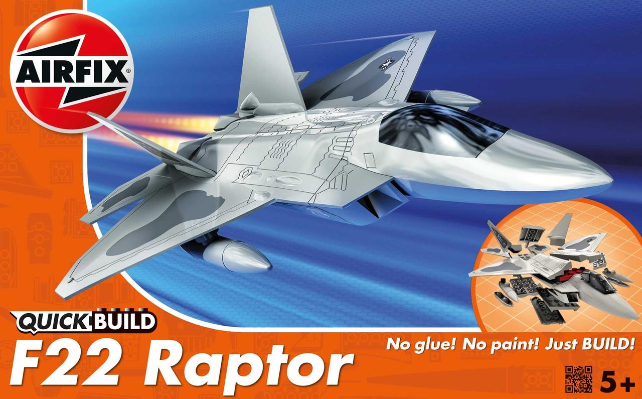 F22 Raptor (сборка без клея). 1/72 AIRFIX J6005