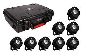 Комплект LED трубок Astera Set of 8 AX3 с зарядным чехлом (AX3-CRMX-SET)