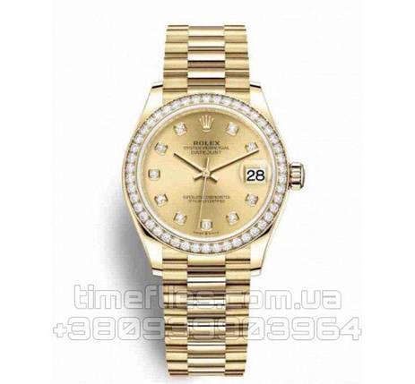 Часы Rolex Datejust combined diamond AAA Copy, фото 2