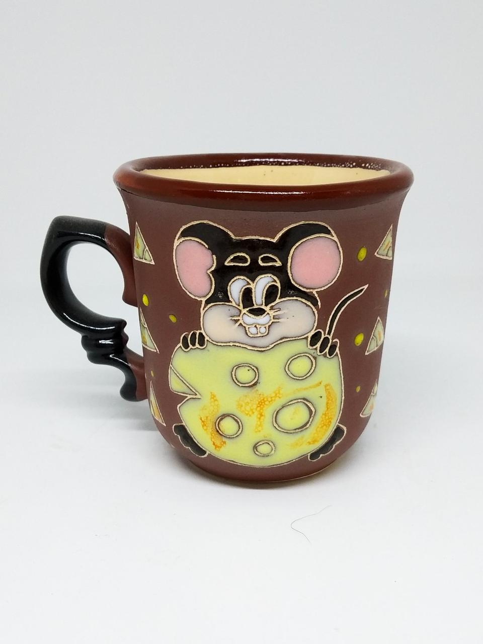 """Чашка кофейная 150мл """"Мышка с сыром"""""""