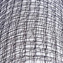 Сетка для бадминтона NB-09A (полиэстер, р-р 6x0,76м, ячейка р-р 2х2см, черный), фото 3