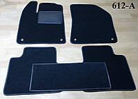 Коврики на Chrysler 200 '14-16. Текстильные автоковрики