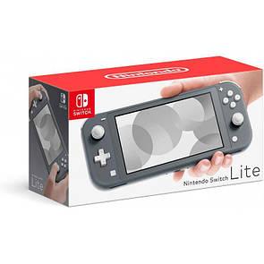 Nintendo Switch Lite Yellow Серый