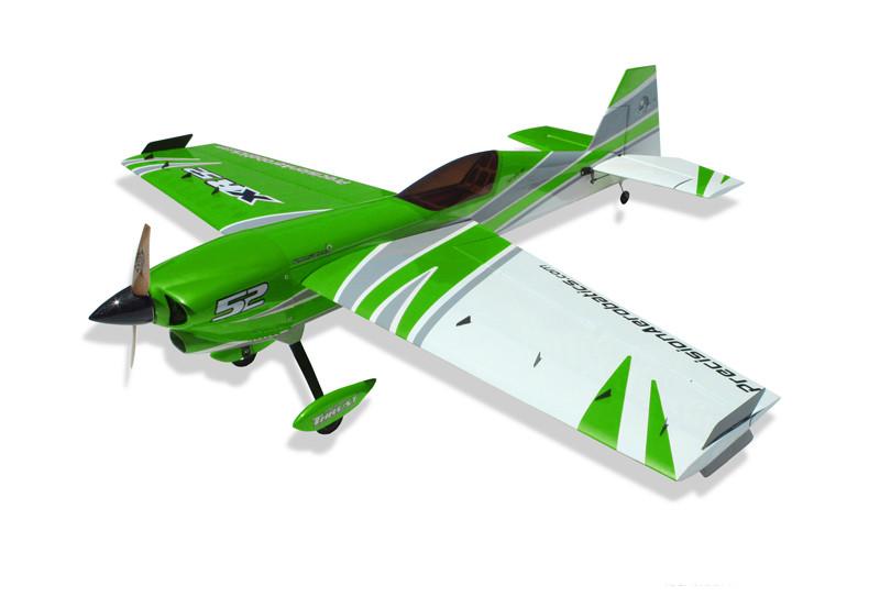 Самолёт р/у Precision Aerobatics XR-52 1321мм KIT Зеленый (PA-XR52-GREEN)