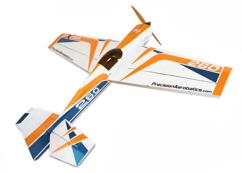 Самолёт р/у Precision Aerobatics Extra 260 1219мм KIT Желтый (PA-EXT-YELLOW)