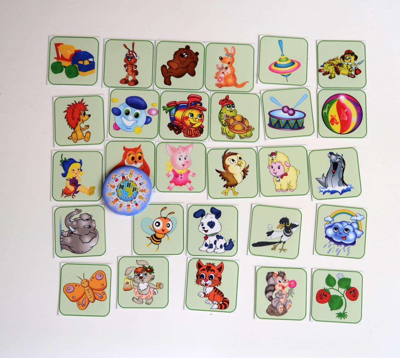 Набор карточек для уголка дежурных Игрушки