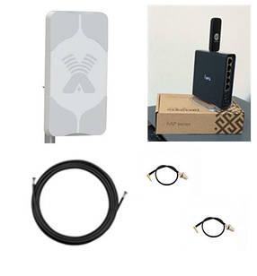 Комплект Home Antex WiFi 4G интернет в частный дом  Зона WiFi 150 м