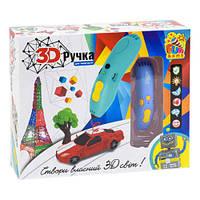 Ручка 3D для детского творчества FUN GAME розовая 7424 Голубой