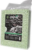 Соевый наполнитель AnimAll Tofu с ароматом зеленого чая, 6 литров (2,6 кг)