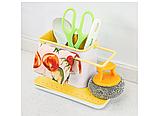 Кухонный органайзер 3 в 1 (жёлтый), фото 5