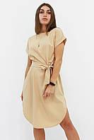 S, M, L, XL | Повседневное женское бежевое платье Megan