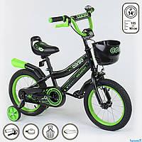 Велосипед 14  дюймов 2-х колёсный CORSO, фото 1