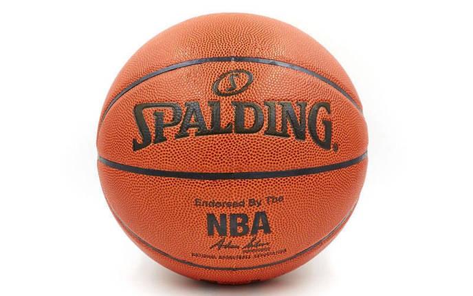 Мяч баскетбольный PU №7 SPALD, фото 2