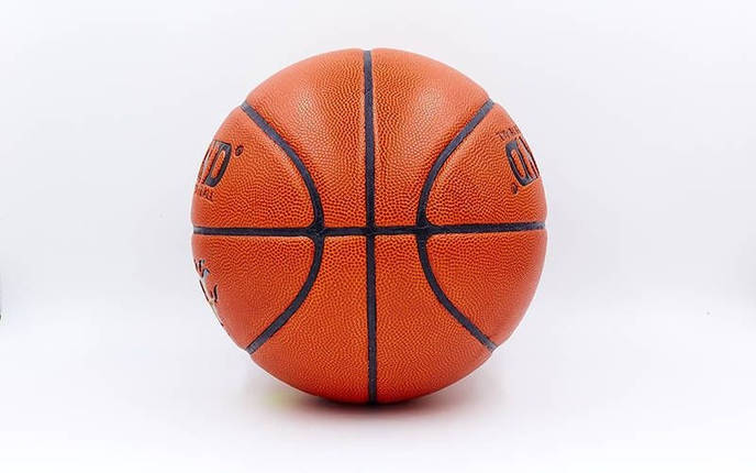 Мяч баскетбольный №7 LEGEND  FASION (TPU, бутил, оранжевый), фото 2