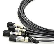 Кабель-DAC QSFP to 4*SFP+ 40G Copper Twinax Cable 3m Alistar, фото 3
