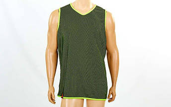 Форма баскетбольная мужская двусторонняя однослойная Ease (рост 160-190 см, салатовый), фото 2