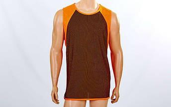 Форма баскетбольная мужская двусторонняя однослойная Unite (рост 160-190 см,оранжевый), фото 2