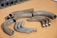 Отвод стальной гнутый (с резьбой) ду 25 оцинкованный