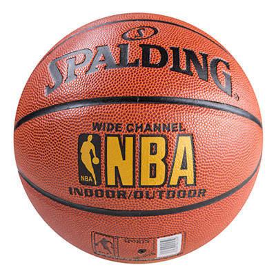 Мяч баскетбольный Spald №7 NBA channel PU, фото 2
