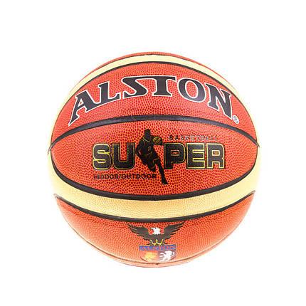 Мяч баскетбольный №6 SuperWinner Alston PVC, фото 2