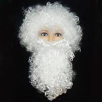 Набор Деда Мороза (парик+борода)   KPB-0572