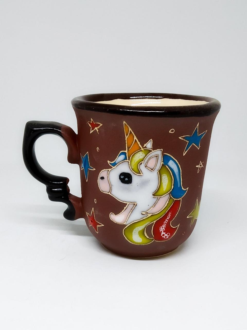 """Чашка кофейная """"Звездный единорог"""""""
