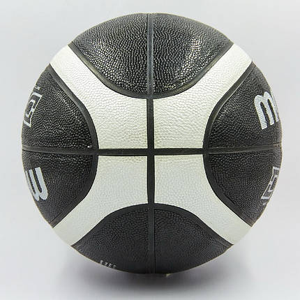 Мяч баскетбольный Composite Leather №7 MOLTEN (черный), фото 2