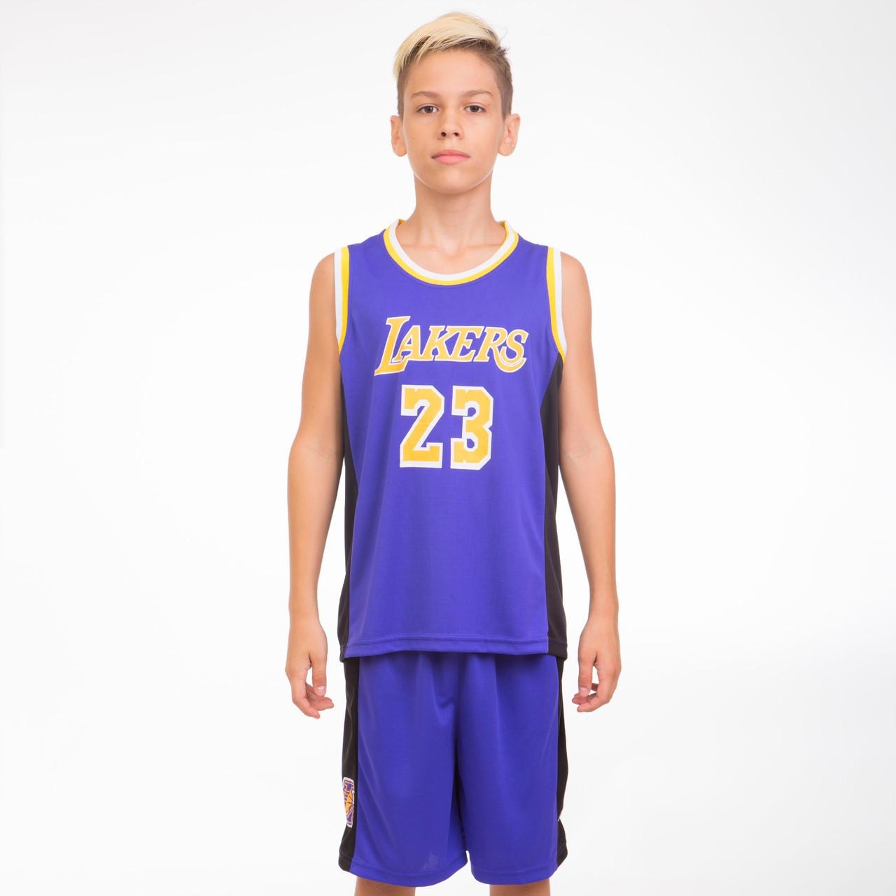 Форма баскетбольная подростковая NBA LAKERS 23 BA-0563-1