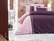 Комплект постільної білизни ранфорс de lux First Choice євро розмір Craze Menekse
