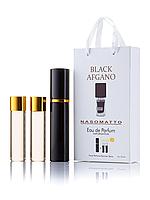 Мини-парфюм Nasomatto Black Afgano, унисекс 3х15 мл