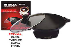 Электрический вок VITALEX  33 х 9 см, VL-5350