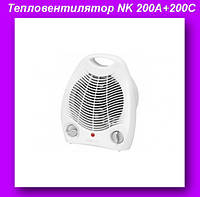 Тепловентилятор FAN HEATER NK 200A+200C,Тепловентилятор обогреватель для дома!Лучший подарок